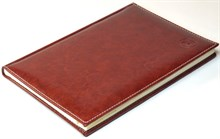 Книжка телефонная А5, Rich, коричневый
