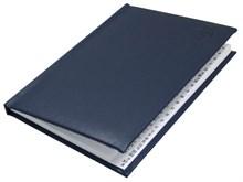 Книжка телефонная А5, Liga, синий