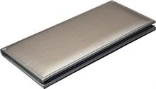 Визитница настольная на 96 визиток Liga серебряный