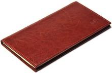 Книжка телефонная карманная, Rich, коричневый