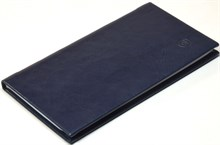 Книжка телефонная карманная, Nature, синий