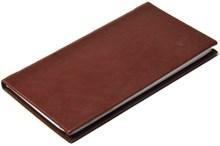 Книжка телефонная карманная, Nature, коричневый