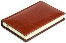 Ежедневник недатированный А6, Rich, коричневый