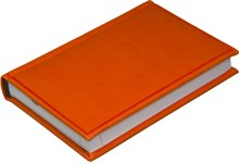 Ежедневник недатированный А6, Vivella, оранжевый