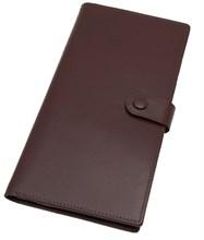 Бумажник дорожный Tokio, натуральная кожа Venezia, коричневый