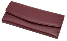 Ключница Firewall для 6 ключей, натуральная кожа Brasile, бордовый