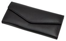 Ключница Firewall для 6 ключей, натуральная кожа Venezia, черный