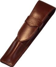 Футляр для пишущих принадлежностей Bern, натуральная кожа, коричневый