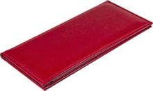 Визитница на 96 визиток, Rich, красный