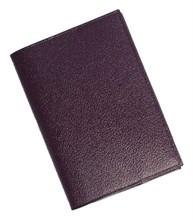 Бумажник водителя Triumf натуральная кожа отделка Shik коричневый
