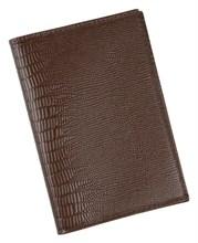 Бумажник водителя Triumf натуральная кожа коричневый