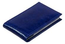 Визитница карманная 36 визиток Rich синий