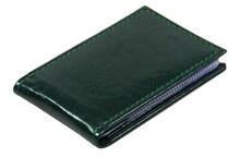 Визитница карманная 36 визиток Rich зеленый