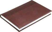 Ежедневник датированный на 2019 год А5 Vivella бордовый