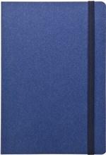 Ежедневник недатированный А5 Corduroy синий в гибкой обложке с резинкой
