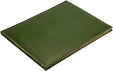 Еженедельник датированный на 2021 год А4 Premium зеленый золотой обрез