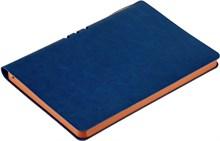 Блокнот недатированный А5 с ручкой Rich синий