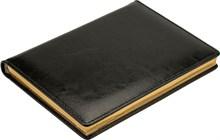 Ежедневник датированный на 2020 год А5 Malaga черный золотой обрез