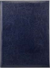 Папка адресная А4 Rich  синий темный