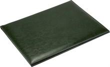 Папка адресная А4 Malaga из натуральной кожи зеленый